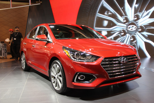 Khám phá Hyundai Accent 2018