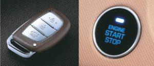 Chìa khóa thông minh & Khởi động nút bấm