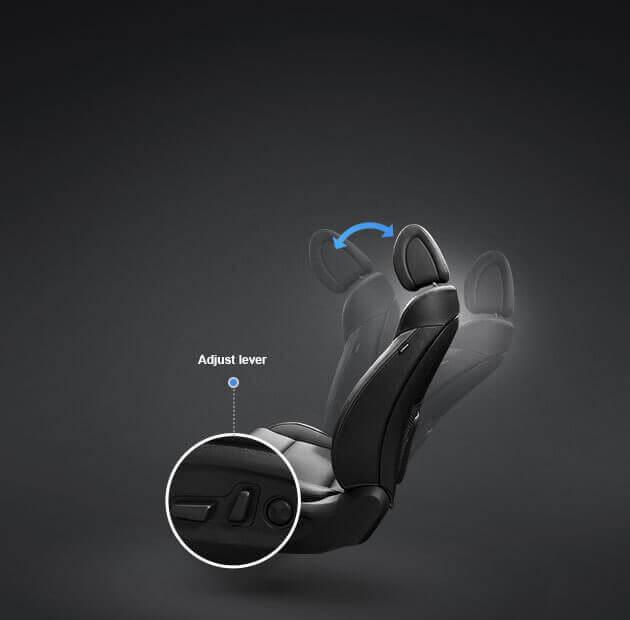 Ghế lái điều chỉnh điện 10 hướng