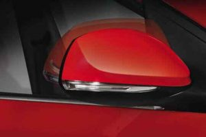 Gương chiếu hậu tích hợp xinhan dạng LED