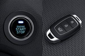 Nút bấm khởi động & Chìa khóa thông minh