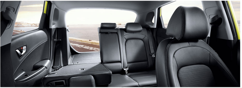 Tiên nghi Hyundai Kona