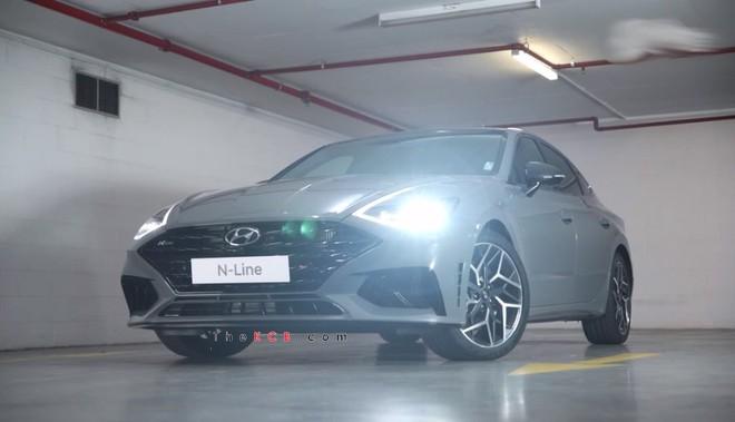 Lộ diện Hyundai Sonata N-Line có sức mạnh 286 mã lực
