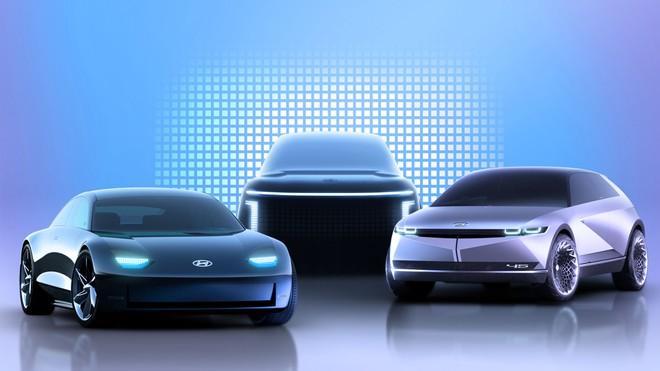 IONIQ – thương hiệu con của Hyundai chuyên sản xuất xe điện