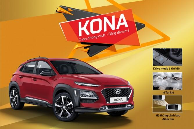 TC MOTOR thực hiện chương trình khuyến mại lên đến 20 triệu đồng dành cho Hyundai KONA, Elantra và Grand i10 sedan