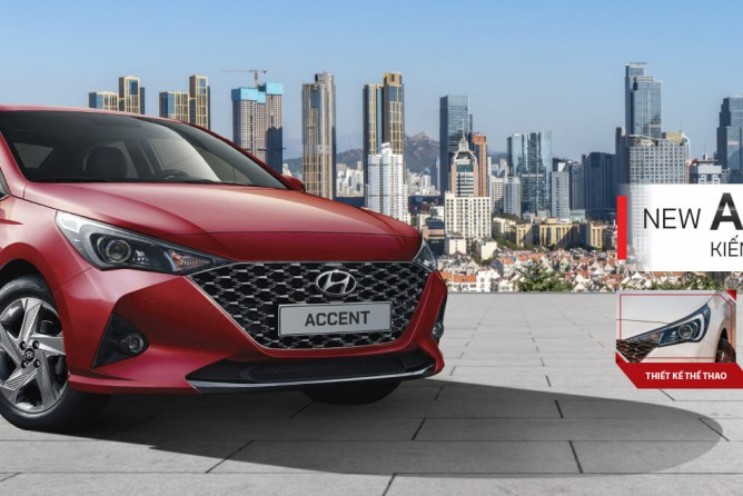 Hyundai Vinh giới thiệu Hyundai Accent 2021 giá từ 426,1 triệu đồng